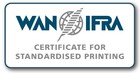WAN-IFRA Certificate for Standardised Printing